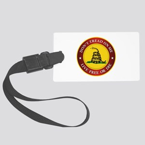 DTOM Gadsden Flag (logo) Luggage Tag