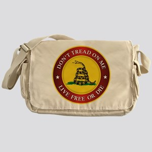 DTOM Gadsden Flag (logo) Messenger Bag