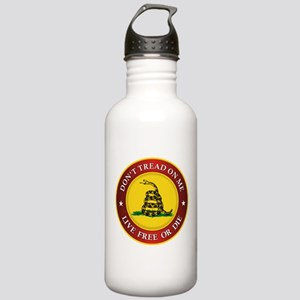 DTOM Gadsden Flag (logo) Water Bottle