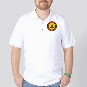 DTOM Gadsden Flag (logo) Golf Shirt