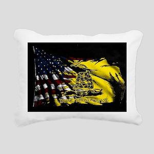 gadsden_kitchen towel Rectangular Canvas Pillow