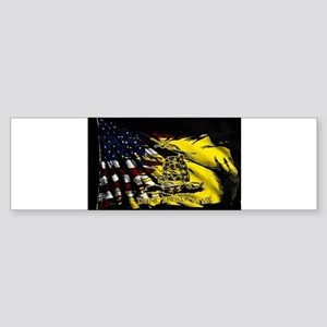 gadsden_kitchen towel Bumper Sticker