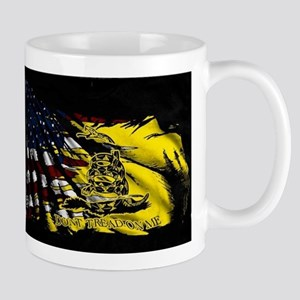 gadsden_kitchen towel Mugs