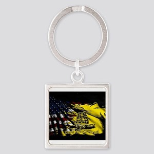gadsden_kitchen towel Keychains