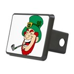 Laughing Leprechaun with Pipe Hitch Cover