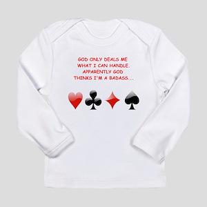 card games Long Sleeve T-Shirt