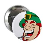 Laughing Leprechaun with Pipe 2.25