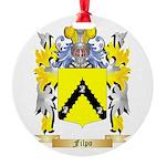 Filpo Round Ornament