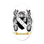 Fillpot Oval Car Magnet