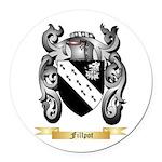 Fillpot Round Car Magnet