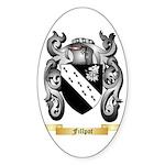Fillpot Sticker (Oval 50 pk)
