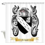 Fillpot Shower Curtain