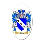 Fillis 35x21 Oval Wall Decal