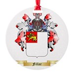 Fillar Round Ornament