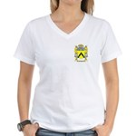 Filippozzi Women's V-Neck T-Shirt