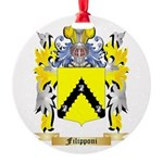 Filipponi Round Ornament