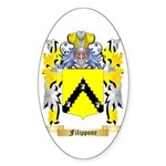 Filippone Sticker (Oval 50 pk)