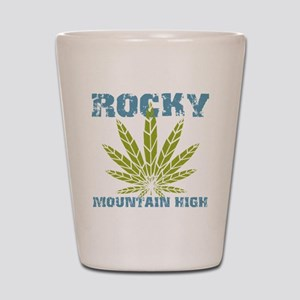 Rocky Mountain High Shot Glass