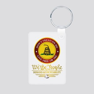 DTOM We The People Keychains