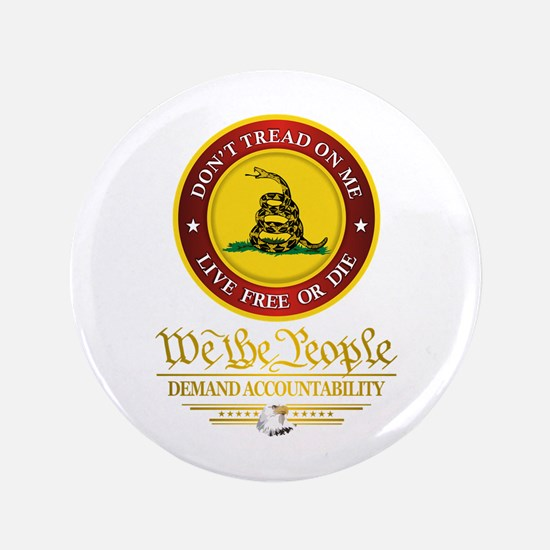 "DTOM We The People 3.5"" Button"