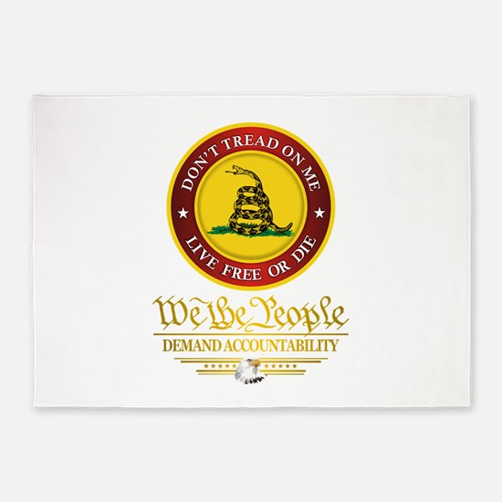 DTOM We The People 5'x7'Area Rug