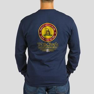 Dtom We The People Long Sleeve Dark T-Shirt