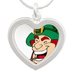 Laughing Leprechaun with Pipe Necklaces