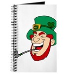 Laughing Leprechaun with Pipe Journal