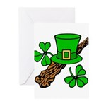 Liftarn - Hat - Shillelagh Greeting Cards