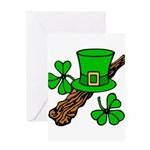 Liftarn - Hat - Shillelagh Greeting Cards