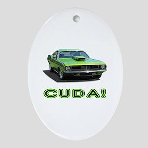 CUDA! Ornament (Oval)
