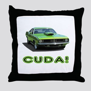 CUDA! Throw Pillow