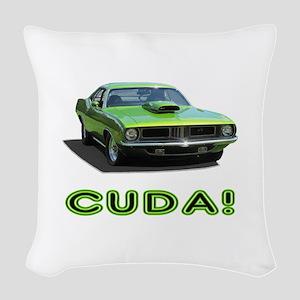 CUDA! Woven Throw Pillow