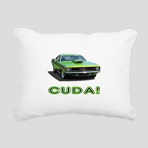 CUDA! Rectangular Canvas Pillow