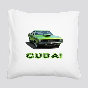CUDA! Square Canvas Pillow