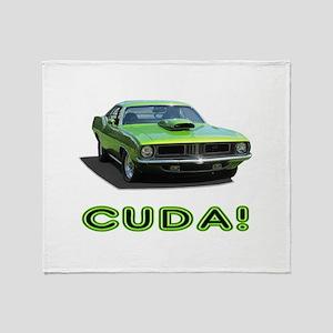 CUDA! Throw Blanket