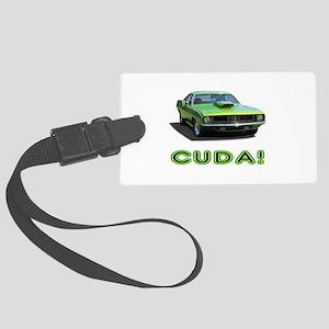 CUDA! Large Luggage Tag