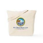 Rv Beachbum.com Logo Tote Bag