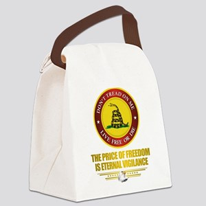 (DTOM) The Price of Freedom Canvas Lunch Bag