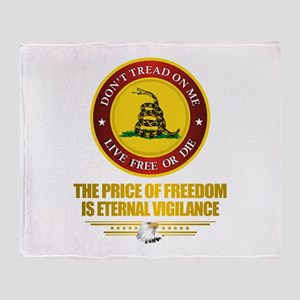 (DTOM) The Price of Freedom Throw Blanket
