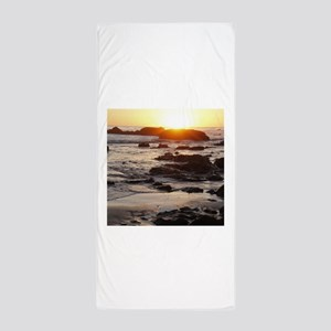 California Sunset Beach Towel