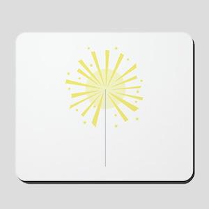 July Fourth Sparkler Firework Mousepad