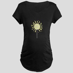 July Fourth Sparkler Firework Maternity T-Shirt