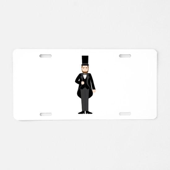 Abraham Lincoln President Aluminum License Plate