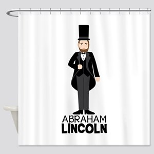 ABRAHAM LINCON Shower Curtain