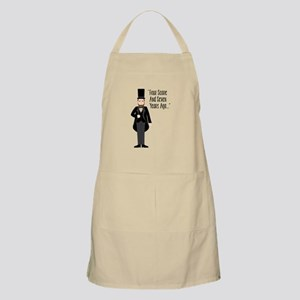FOUR SCORE AND SEVEN YEARS AGO... Apron