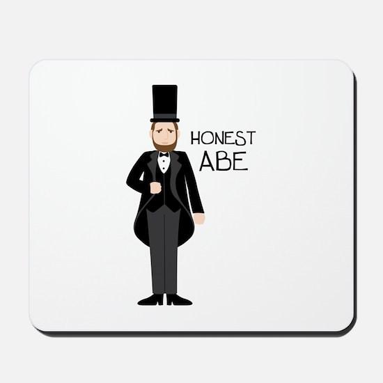 HONEST ABE Mousepad