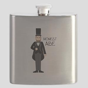 HONEST ABE Flask