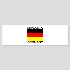 Bavaria, Germany Bumper Sticker