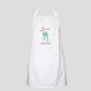 J Is For Jellyfish Apron